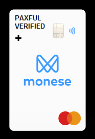 Monese bank uk+ paxful account verified