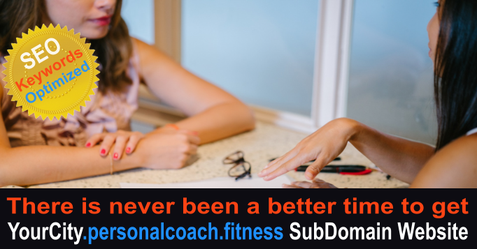 YourCity.personalcoach.fitness SubDomain SEO Website