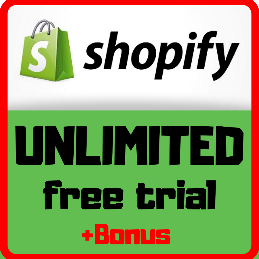 Shopify Store Unlimited Trial New Stores Only No Fee