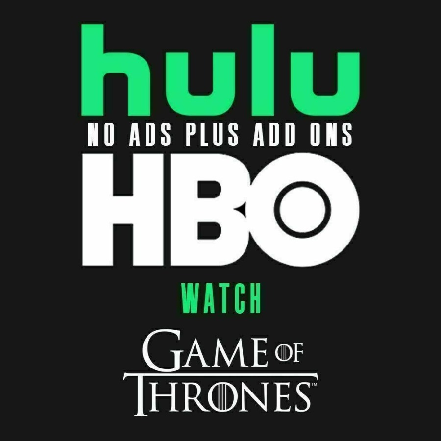 Hulu Premium + HBO + No Ads + | 2 Years | Fast Delivery