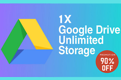 Google Drive Unlimited Cloud Storage + Your USERNAME