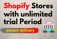 Free Shopify Store Unlimited Store With no monthly fee