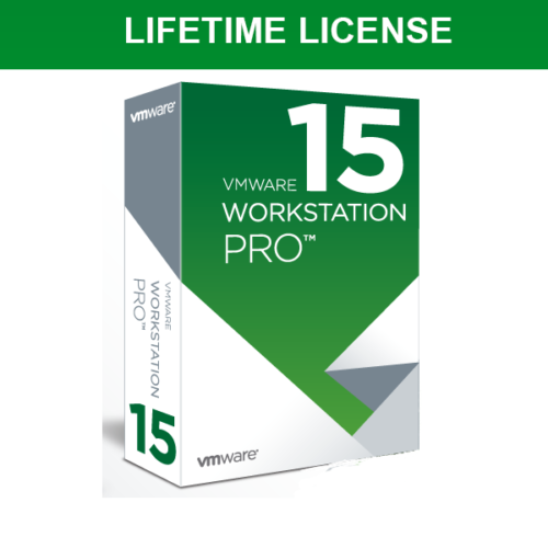 VMware Workstation Pro 15 Full Version Lifetime 5 PC