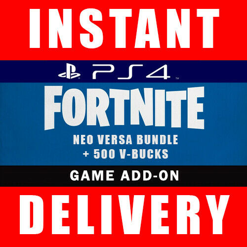 Fortnite Neo Versa Bundle Skin Code + 500 V Bucks PS4