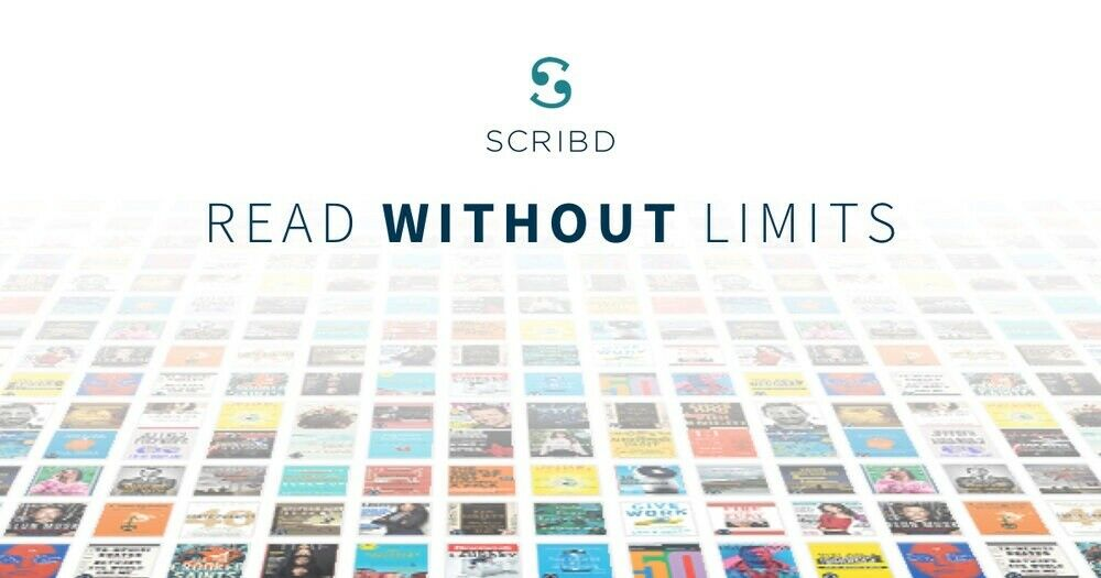 Scribd Premium Account 1 Year (12 Months) Warranty