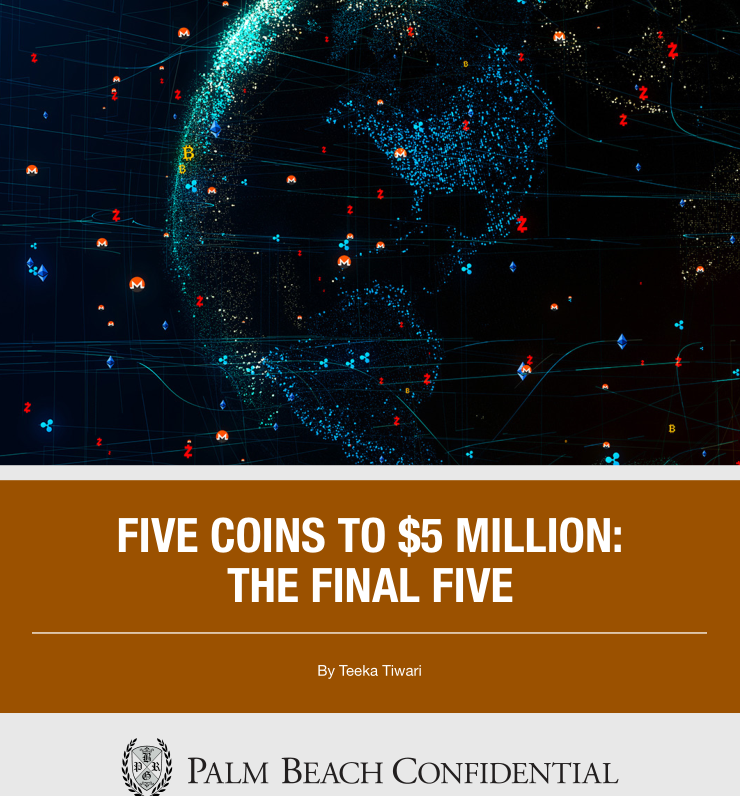 $2500 FINAL FIVE COINS TO 5 MILLION - 30 PAGES