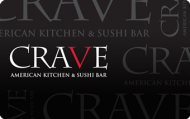 crave gift card 100$