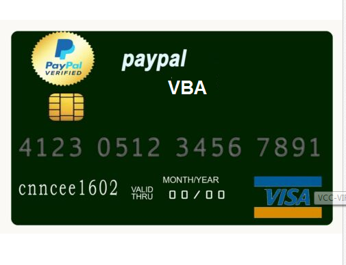 PAYPAL VBA _ For Verification & Withdrawal Of Fund