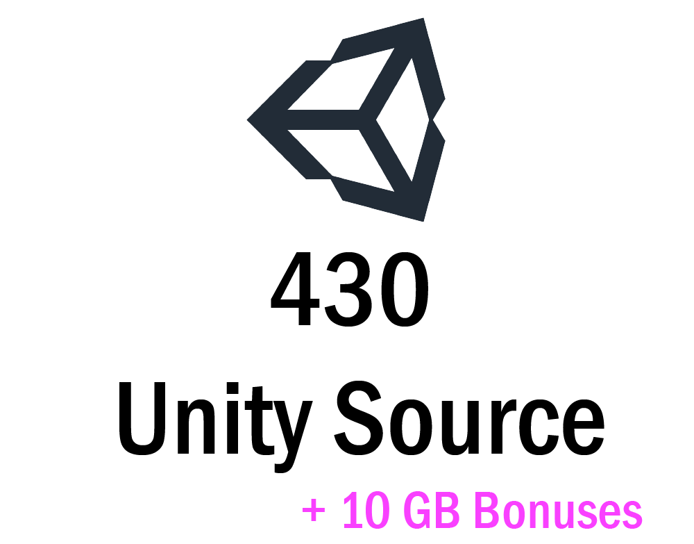 430 Premium Unity Source Code + 10 GB Bonuses