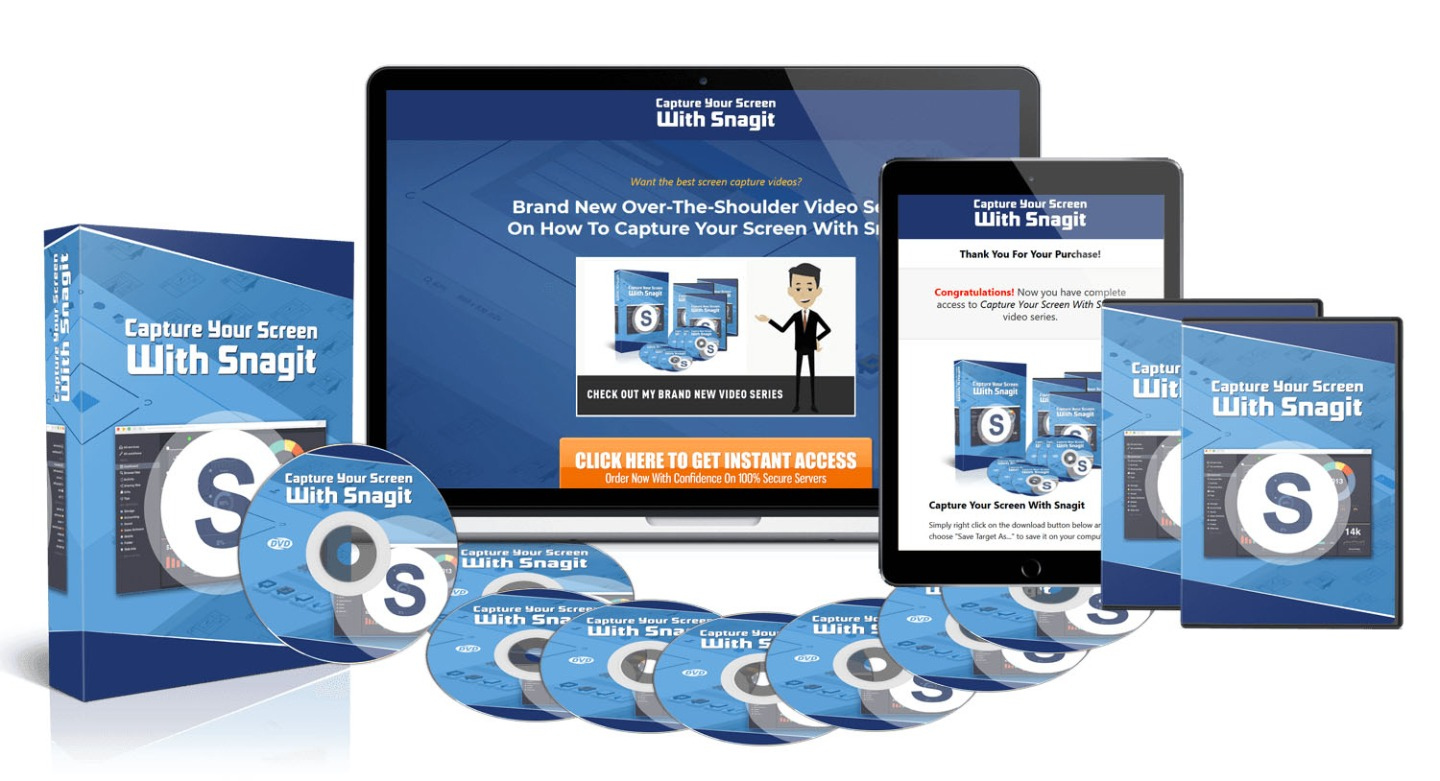 Capture Your Screen With Snagit – Advanced Version...