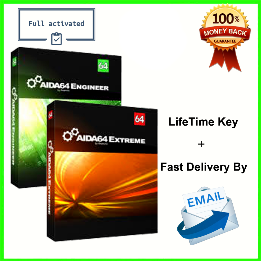 AIDA64 Extreme & Engineer Lifetime License Key G...