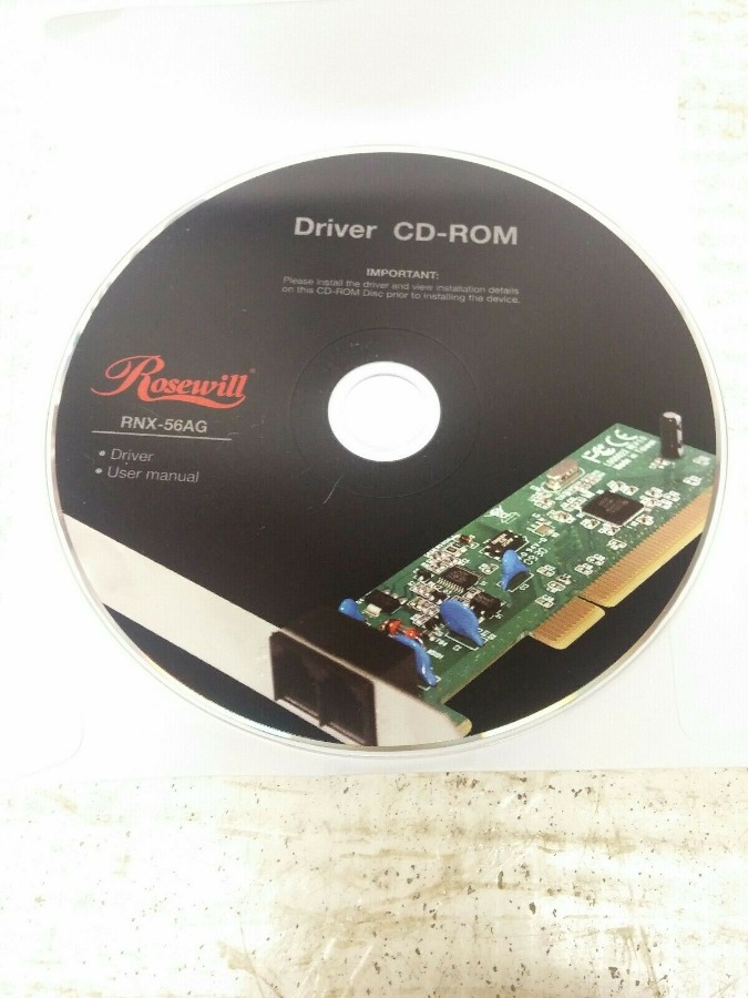 Rosehill Driver Cd-rom For RNX-56AG