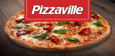 Pizzaville 2x Free Large Pizza