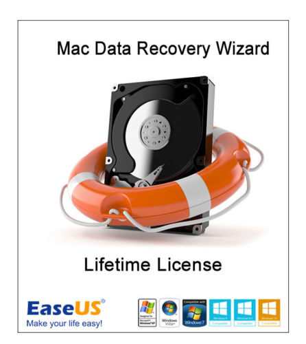 EaseUS Mac Data Recovery Wizard - Lifetime License