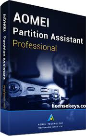 AOMEI Partition Assistant Pro 8.4 Full Version License
