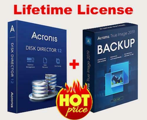 Acronis Disk Director 12 & Acronis True Image 20...