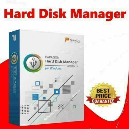 PARAGON HARD DISK MANAGER 16 ADVANCED - FOR ALL WINDOWS