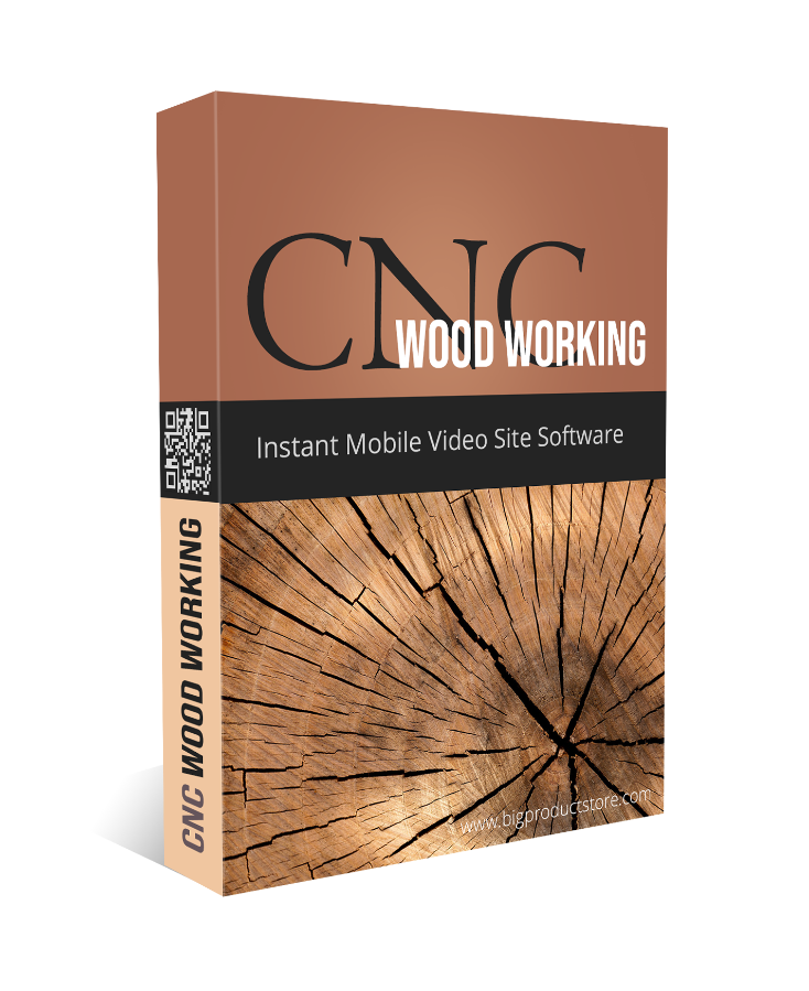 Cnc Woodworking Instant Mobile Video Site