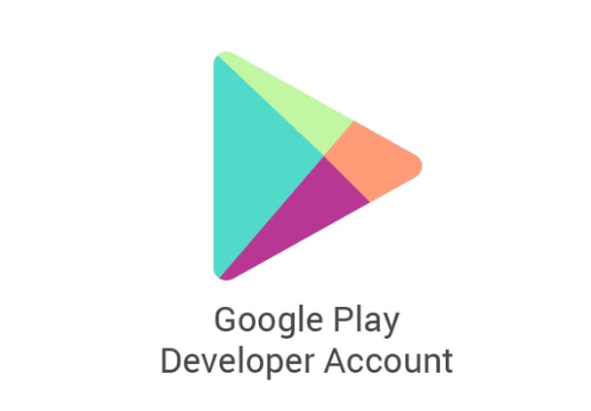 Google play developer console account
