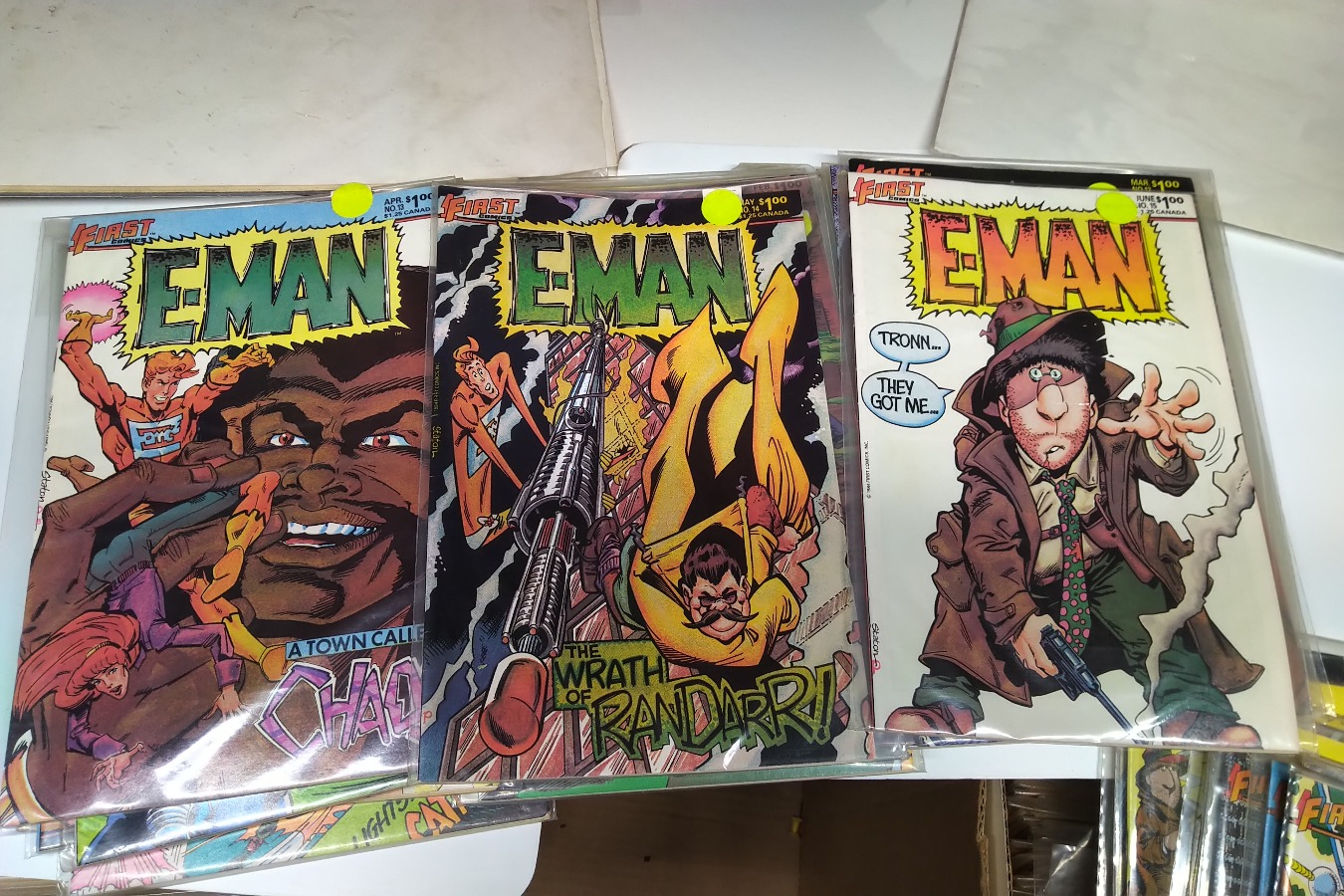 E-man Comic Books issue #1 to 25