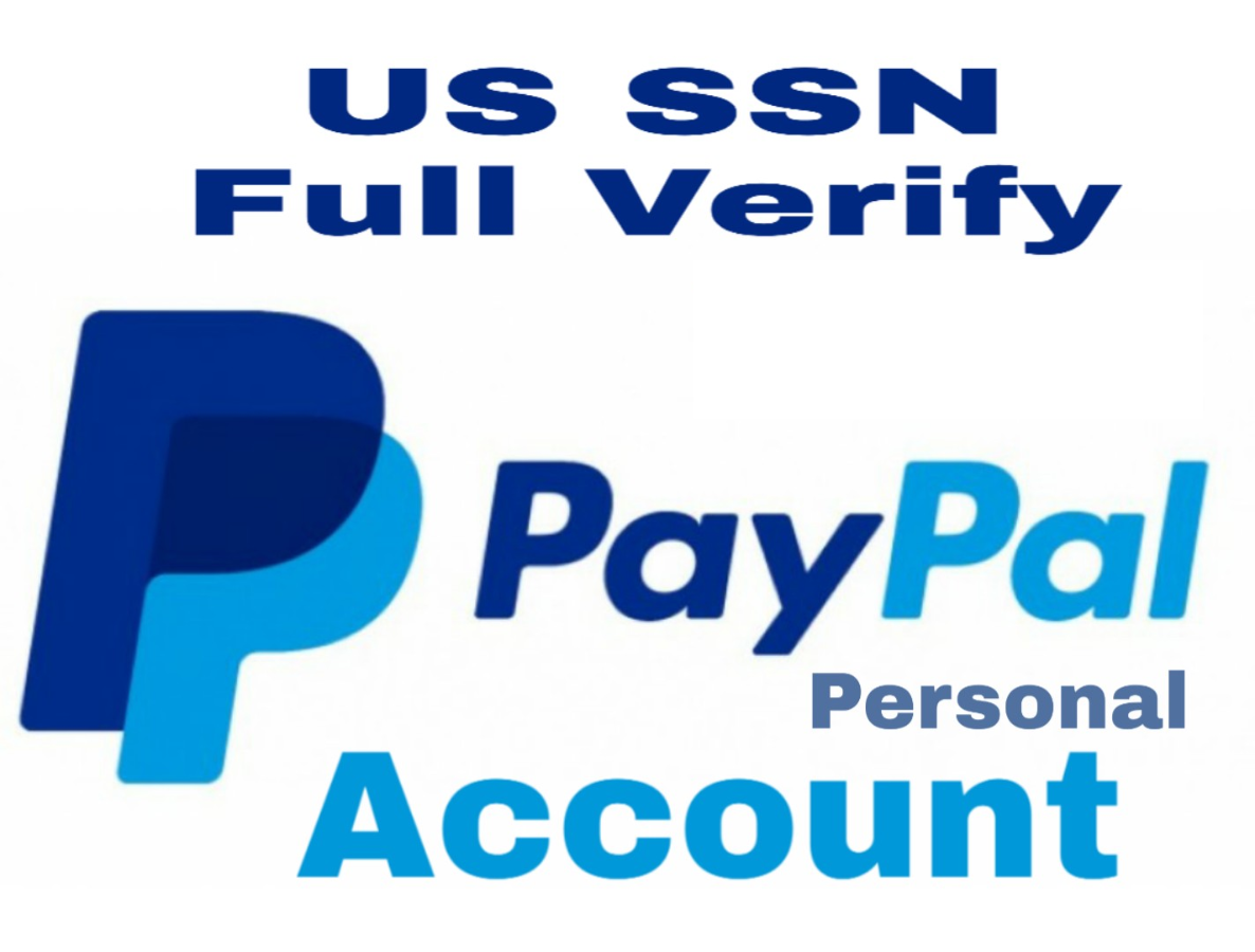 paypal account US 100% verify