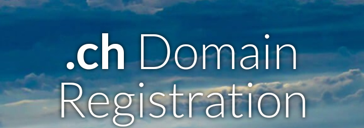 Registration of New/Renew .CH domain