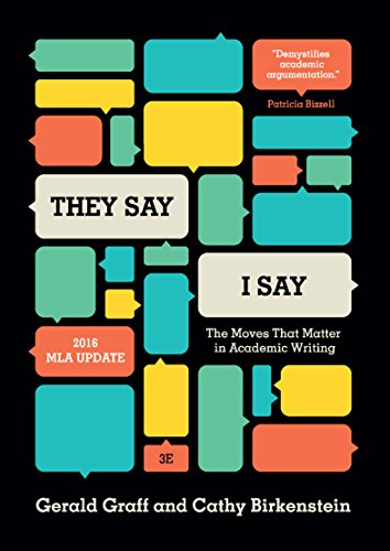 THEY SAY, I SAY (3RD EDITION)