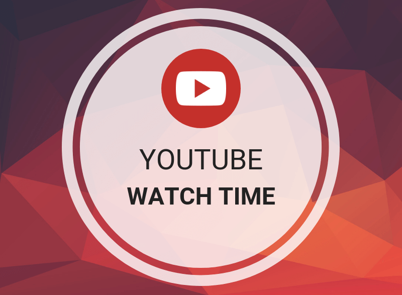 Youtube Watchtime 1000 hours