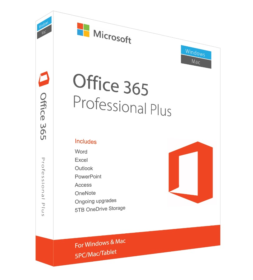 Microsoft Office 365 ProPlus Account Lifetime license