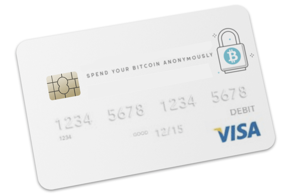 Reloadable Bitcoin prepaid visa card (Virtual) CVV