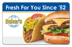 Baker's Drive-Thru – $50.00 [Instant Delivery]
