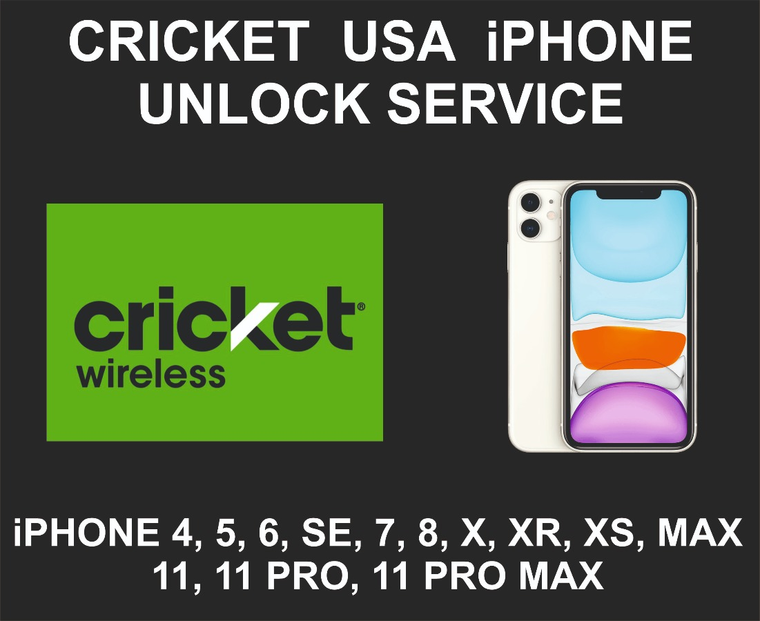 Cricket USA Network Unlock Service, iPhone All Models