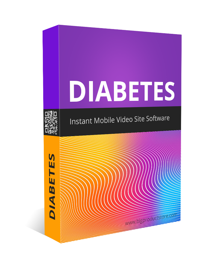 Diabetes Instant Mobile Video Site Software