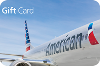 50$ American Airlines Gift Card