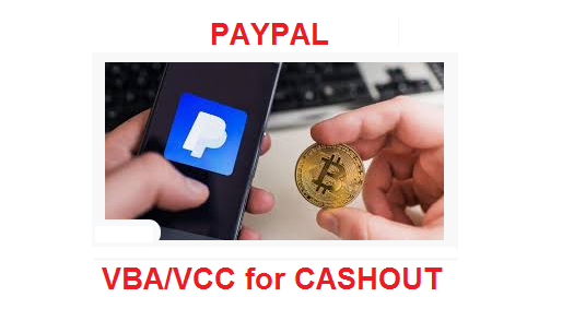 ####PAYPAL Limited Fund CASHIER (VBA/VCC ..)  USA  pp..