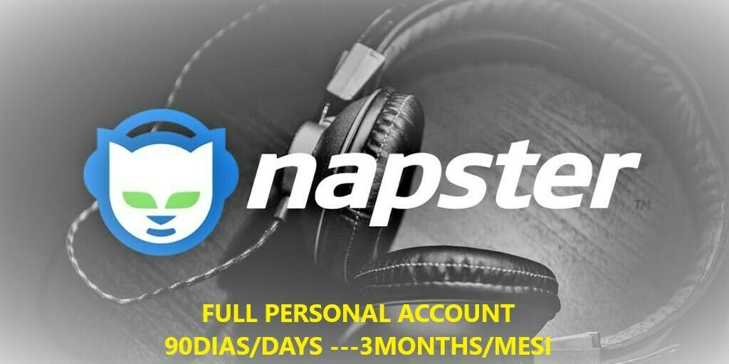 Napster Account 90 Days 💯LEGIT | Private | Warranty