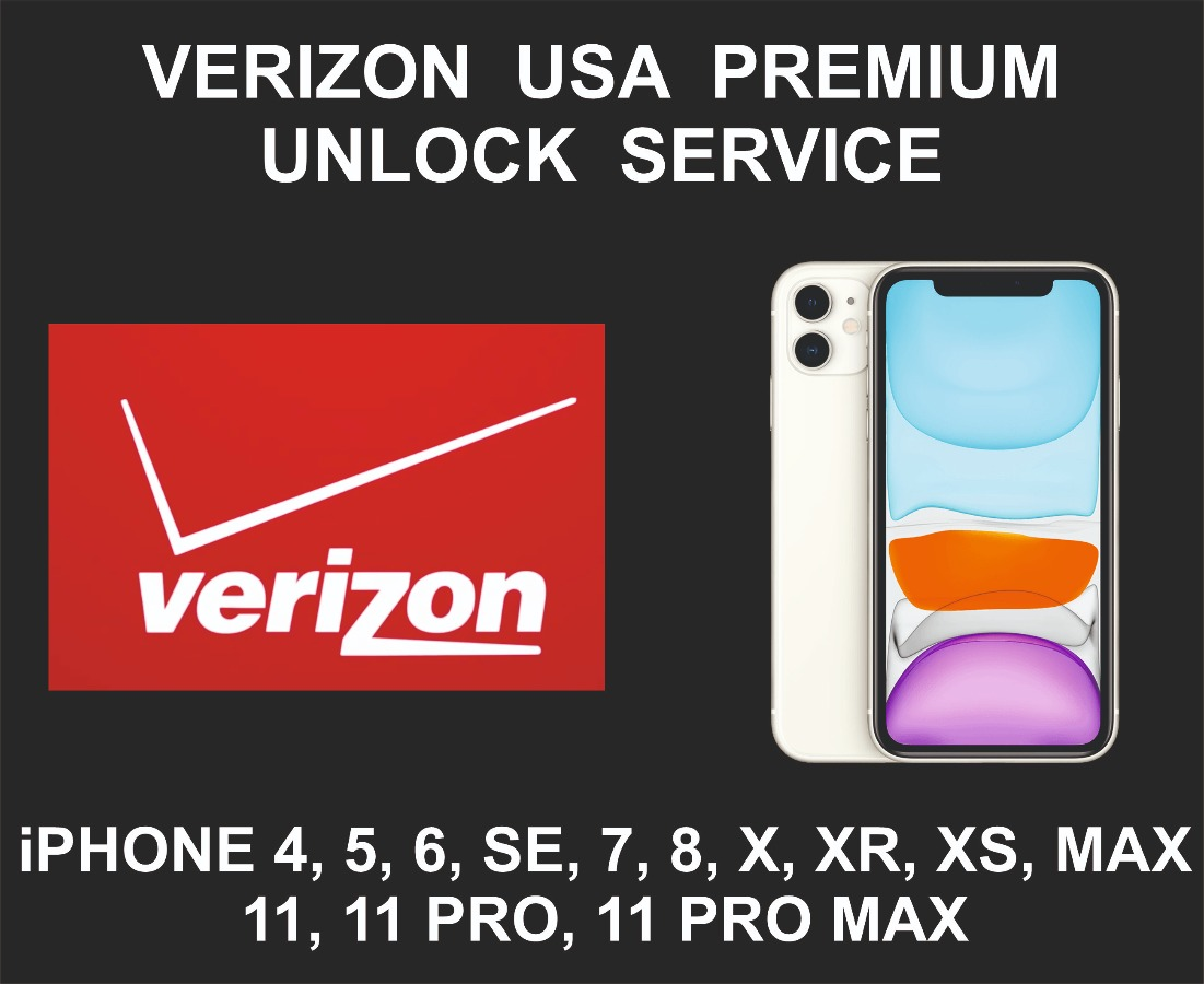 Verizon USA Network Unlock Service, iPhone All Models
