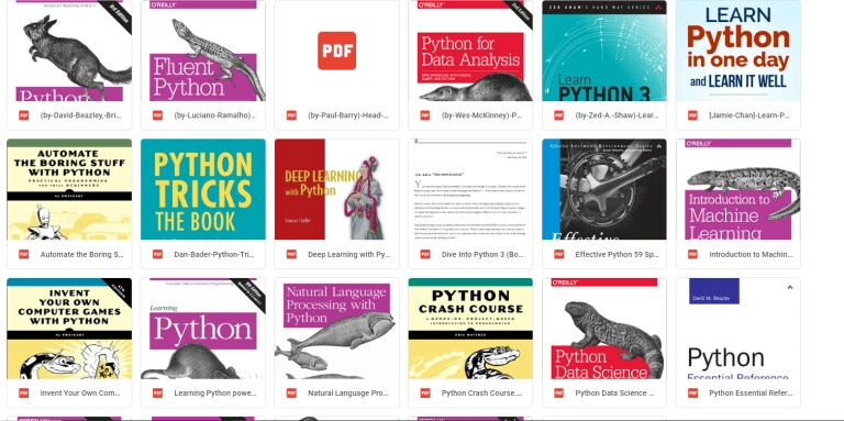 The 23 recommended Python books of all-time