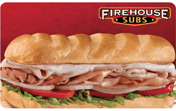 Firehouse Subs - $25.00 [Instant PDF]
