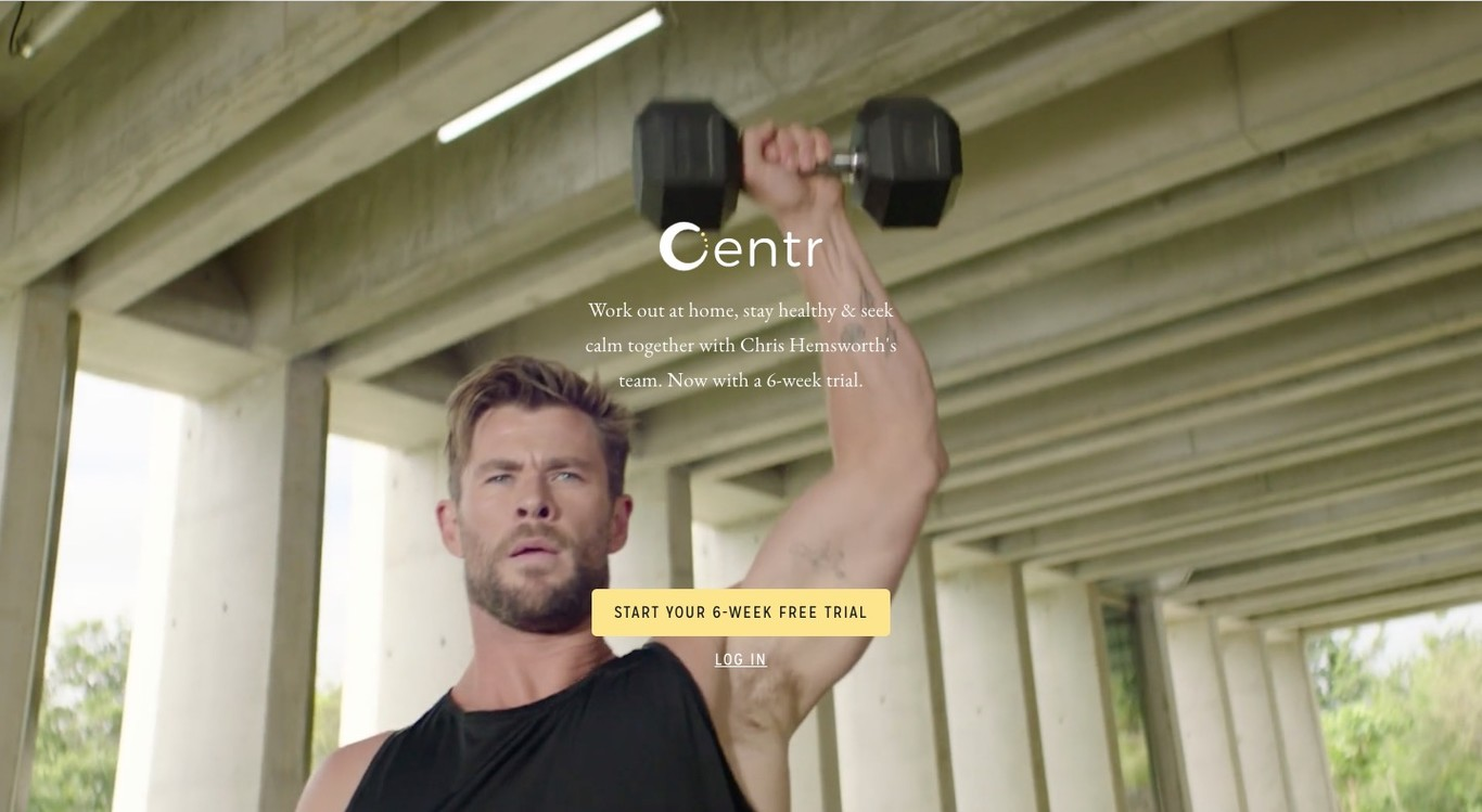 Centr | Workouts by Chris Hemsworth
