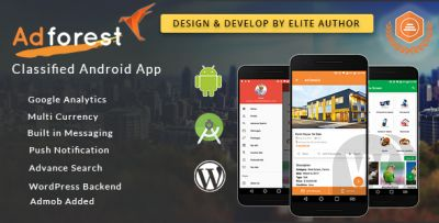 AdForest Classified Native Android App v2.3.7