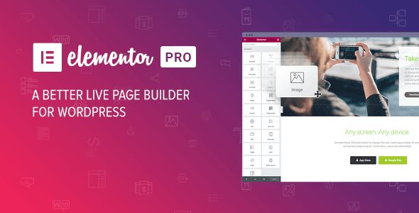 Elementor PRO v2.9.5 - WordPress Page Builder