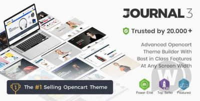 Journal 3.0.46 - universal template for OpenCart