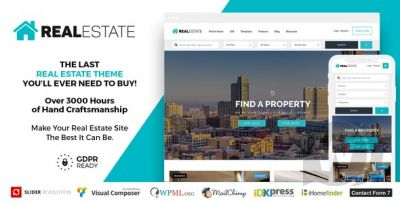 Real Estate 7 v3.0.0 - WordPress Real Estate Template