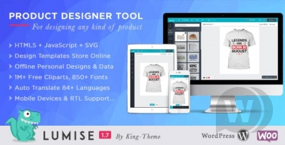 Product Designer for WooCommerce WordPress