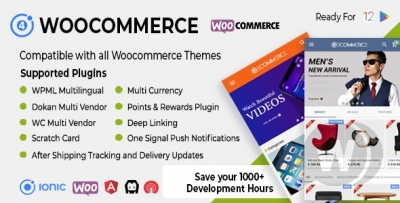 Universal iOS & Android Ecommerce / Store Full M...