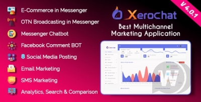 XeroChat v4.1 - marketing bot for Facebook