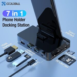Type C Phone Docking Station Holder USB-C