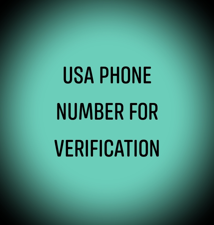 USA Phone Number for verification.