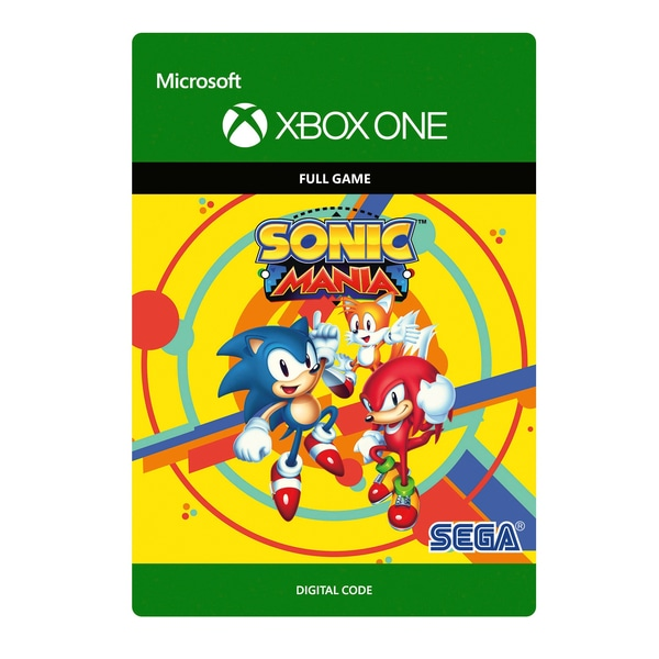 Sonic Mania Xbox One Key Digital Code Region Free